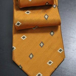Brioni Copper 100% Authentic Tie